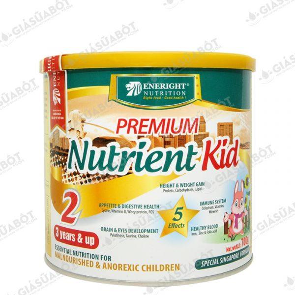 Sữa Premium Nutrient Kid 2 (hộp thiếc 700g) dành cho trẻ từ 3 tuổi trở lên