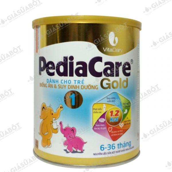 Sữa PediaCare Gold 1 (hộp thiếc 900g) dành cho trẻ từ 6 - 36 tháng tuổi