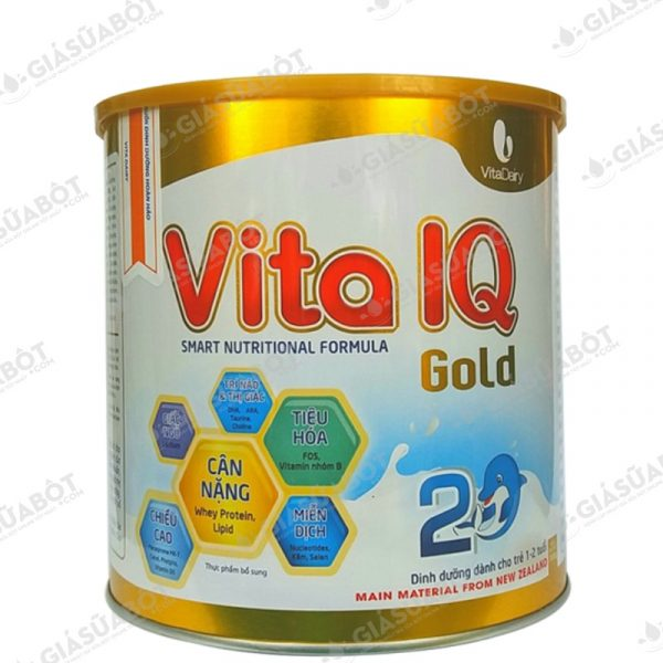 Sữa Vita IQ Gold 2 (hộp thiếc 700g) cho trẻ từ 1-2 tuổi | GIASUABOT.COM