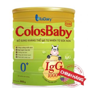 Sữa ColosBaby Gold 0+