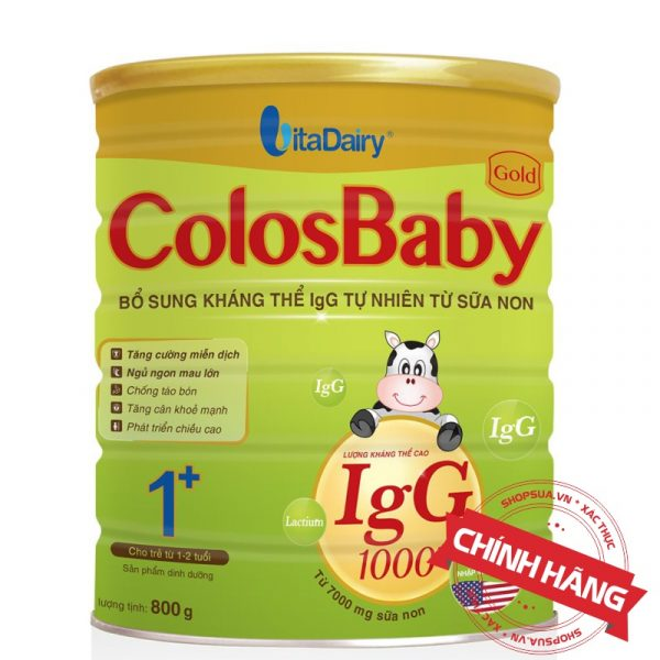 Sữa ColosBaby Gold 1+