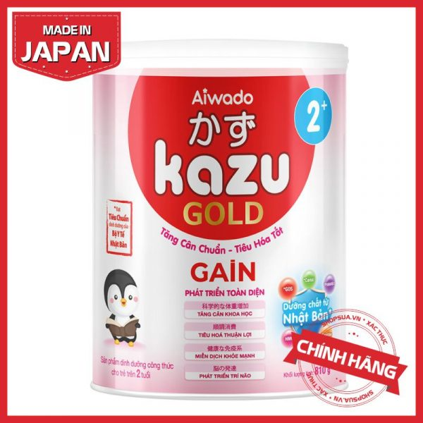 Sữa Kazu Gain 2+