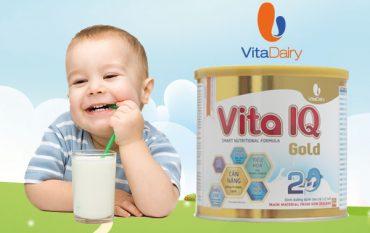 6 đặc điểm nổi bật trong sản phẩm sữa Vita IQ Gold